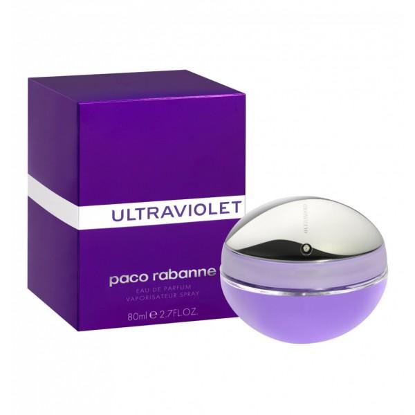 Paco rabanne ultraviolet eau de parfum 80ml vaporizador
