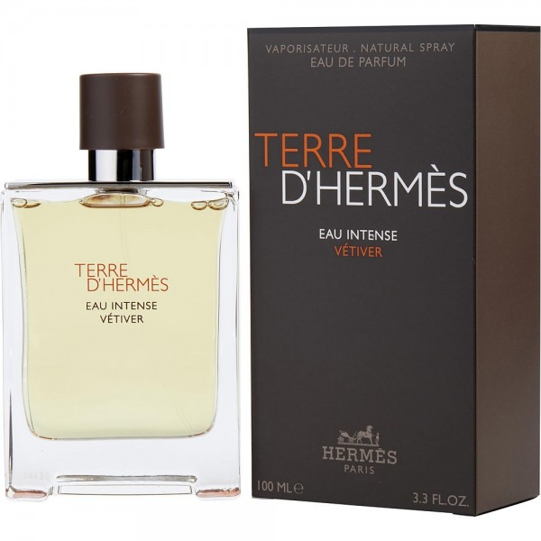 Hermes paris terre d'hermes eau intense vetiver eau de parfum 100ml vaporizador