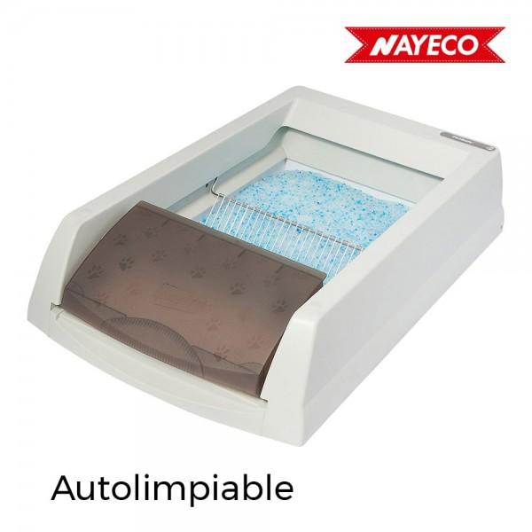 Arenero autolimpiable scoopfree original 70x49x16cm petsafe